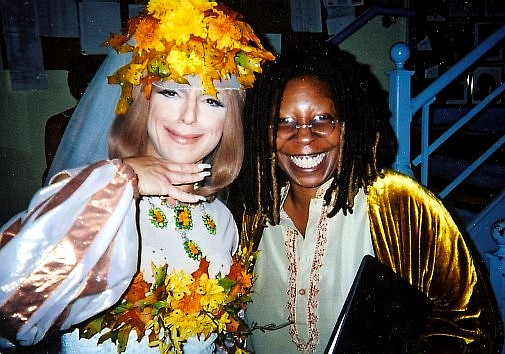 Steven Brinberg with Whoopi Goldberg