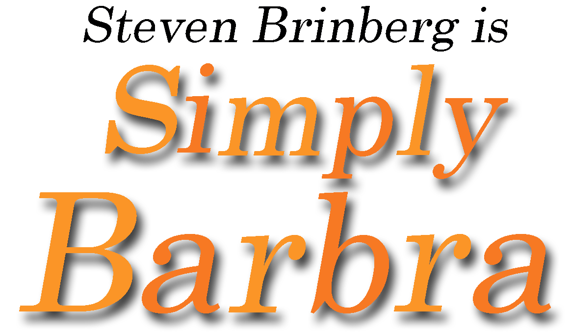 Steven Brinberg is Simply Barbra